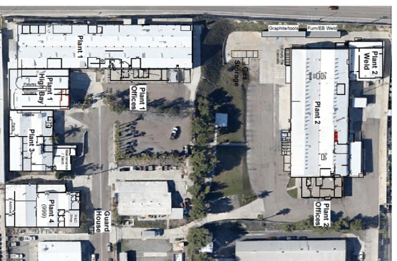 Facility Overhead Map horizontal